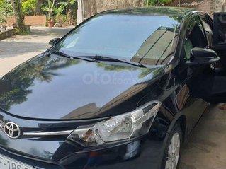 Bán Toyota Vios 1.5E đời 2018, màu đen còn mới