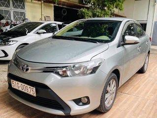 Bán Toyota Vios đời 2017, màu bạc số sàn giá cạnh tranh
