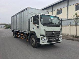 Xe tải 9 tấn Thaco Auman C160 thùng kín chở palet 7.4m, động cơ Cummin 2021, vay vốn 75% tại Hà Nội