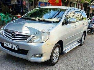 Bán ô tô Toyota Innova đời 2009, màu bạc, nhập khẩu nguyên chiếc