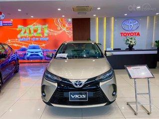 [Đại lý Toyota] Toyota Vios 2021,  nhận xe với 95tr, đứng đầu doanh số mẫu xe phân khúc B, hỗ trợ bank 80% giá trị xe