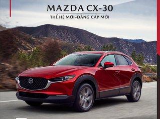 Mazda Ninh Bình _Sở hữu xe Mazda CX-30 chỉ từ 839 triệu trong T6, hỗ trợ bank 80%, lái thử, tặng phụ kiện , full đủ màu