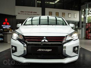 Mitsubishi Attrage 2021 lấy xe chỉ từ 75tr, tặng phiếu nhiên liệu 10tr, lãi suất 0.74%, quà tặng hấp dẫn khác