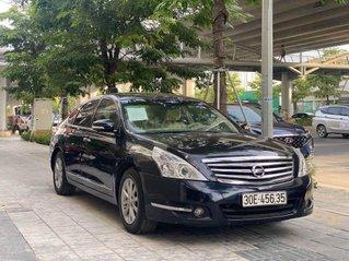 Cần bán lại xe Nissan Teana sản xuất năm 2010, màu đen, xe nhập chính chủ