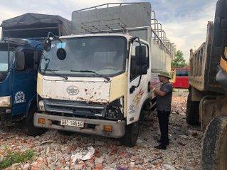 Ngân hàng bán đấu giá xe Giải Phóng tải mui bạt 7,3 tấn sản xuất 2017
