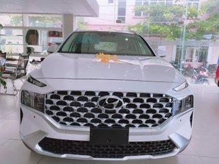 Cần bán Hyundai Santa Fe 2.5 xăng cao cấp sản xuất năm 2021, màu trắng