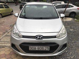 Cần bán Hyundai Grand i10 1.2MT năm 2015, màu bạc số sàn giá cạnh tranh