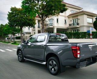 Tăng thêm 100 triệu đồng, giá lăn bánh xe Mazda BT-50 2021 'nhích' lên bao nhiêu?
