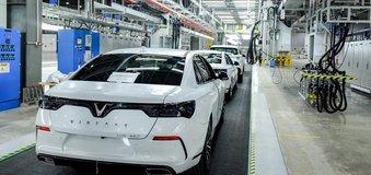 VinFast lập kỷ lục về thời gian khánh thành nhà máy sản xuất ô tô