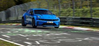 Ô tô Trung Quốc Lynk & Co 03 Cyan Concept lập kỷ lục về tốc độ