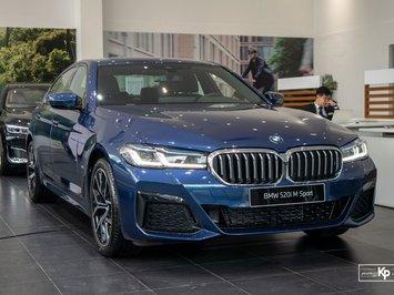 Đánh giá xe BMW 5-Series 2021: Đáp trả Mercedes-Benz E-Class
