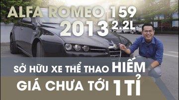 XE NGON GIÁ TỐT | Xe thể thao hiếm Alfa Romeo 159 đời 2013 giá chưa tới 1 tỉ.