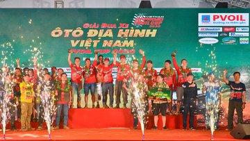 Lộ diện các nhà vô địch PVOIL VOC, khép lại mùa giải đua ô tô định hình năm 2020