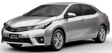 Bán xe Toyota Corolla altis  2014 mới tại Quảng Ninh giá 757 Triệu
