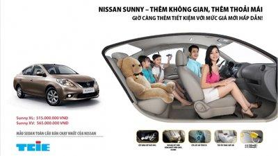 Bán xe Nissan Sunny  2014 mới tại Đà Nẵng giá 565 Triệu