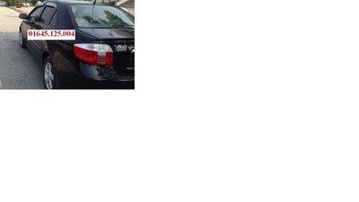 Cần bán xe Toyota Vios đời 2005, màu đen, nhập khẩu, chính chủ