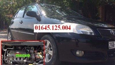 Cần bán xe Toyota Vios đời 2005, màu đen, xe nhập, số sàn