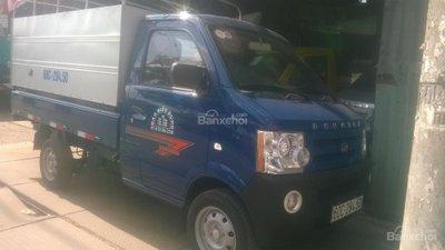 Bán xe tải Dongben 870kg thùng bạt, giá rẻ giao ngay, hỗ trợ trả góp 90% toàn quốc