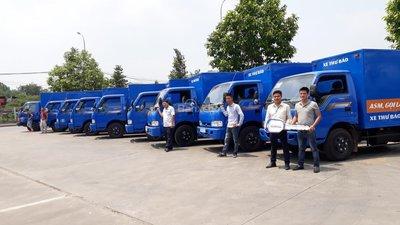 Bán xe tải Kia 2.4 tấn Trường Hải mới nâng tải ở Hà Nội, LH: 098 253 6148