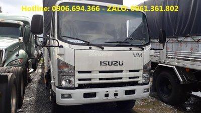 Bán xe Isuzu nâng tải 8 tấn 2, thùng 7 mét, trả góp uy tín tại Kiên Giang