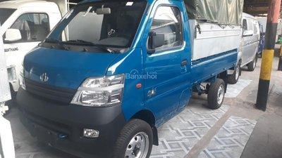 Bán xe Veam Star 800kg thùng bạt, màu xanh, trả góp lãi thấp