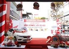 Bán xe Honda City CVT sản xuất năm 2018, màu trắng, giá chỉ 560 triệu, xe được trúng thưởng từ nhà SX