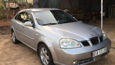 Cần bán Daewoo Lacetti Max 1.8 MT năm 2005, màu bạc