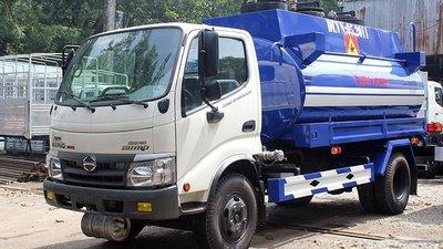Bán xe bồn Hino 6 khối - Chuyên chở xăng dầu, hóa chất, chất lỏng công nghiệp