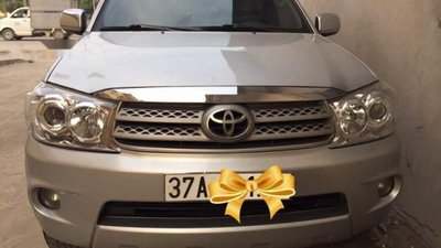 Bán Toyota Fortuner sản xuất năm 2010, màu bạc, chính chủ, giá tốt