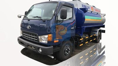 Bán xe bồn Thaco HD650 8 khối - chuyên chở xăng dầu, hóa chất, chất lỏng công nghiệp
