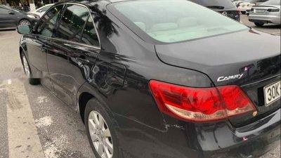 Bán Toyota Camry 2.4G đời 2009, màu đen như mới