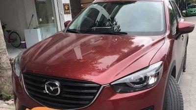 Cần bán gấp Mazda CX 5 đời 2017, màu đỏ
