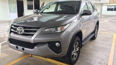 Bán Toyota Fortuner đời 2017, màu xám, nhập khẩu số sàn