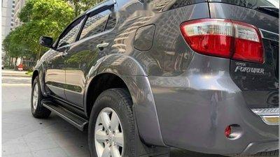 Bán lại xe Toyota Fortuner 2.5G năm sản xuất 2011, màu xám số sàn