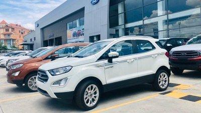 Cần bán gấp Ecosport Titanium 1.5 màu trắng, đưa trước 1xx triệu, có sẵn giao nhanh