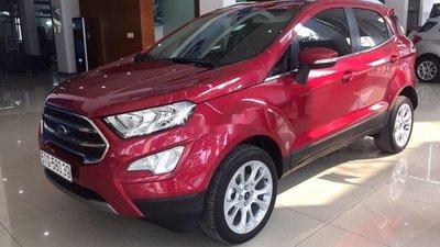 Bán Ford EcoSport 2019, màu đỏ, nhập khẩu