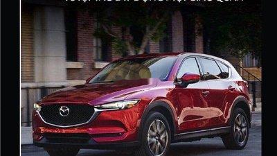 Cần bán xe Mazda CX 5 đời 2019, màu đỏ