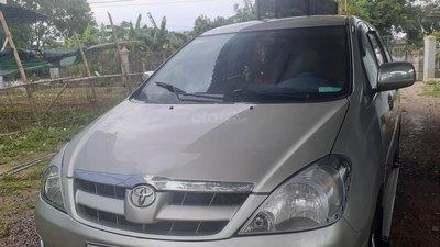 Bán xe Toyota Innova G năm 2008, màu bạc