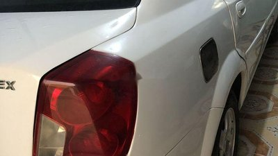 Xe Daewoo Lacetti năm sản xuất 2004, màu trắng, xe nhập