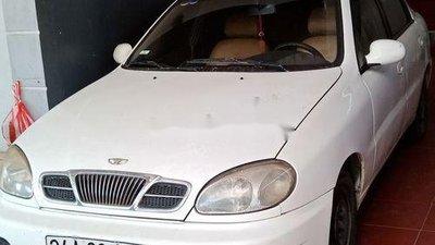 Cần bán Daewoo Lanos năm 2002, màu trắng, giá 55tr