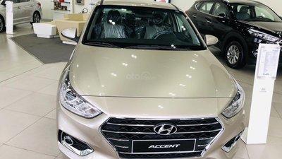 Hyundai Accent, đưa trước 150tr, tặng 10tr phụ kiện, hỗ trợ ngân hàng lãi suất thấp