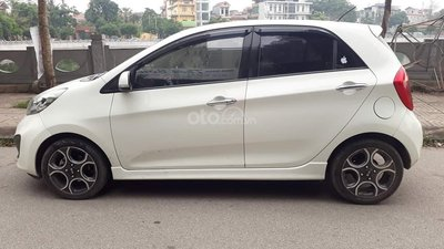 Cần bán xe Kia Morning 2011, màu trắng, nhập khẩu nguyên chiếc