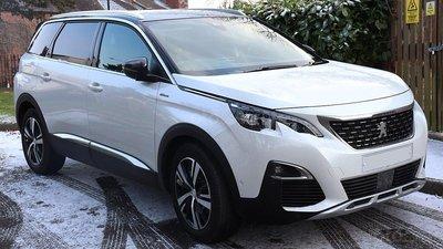 Trả góp 0% + Xe mới 100% + Bảo hành 5 năm, Peugeot 5008 đời 2019, màu trắng