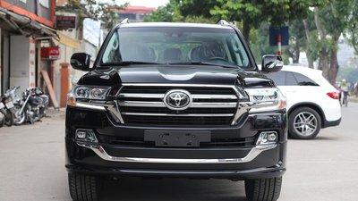 Duy nhất 1 chiếc xế hạng sang, Toyota Land Cruiser sản xuất 2019, màu đen, xe nhập