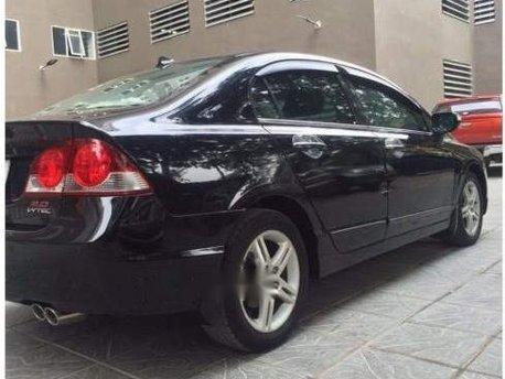 Cần bán xe Honda Civic AT sản xuất năm 2007, màu đen