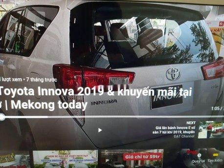Cần bán xe Toyota Innova sản xuất 2018, nhập khẩu chính hãng