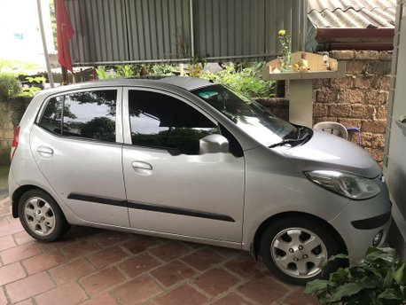 Cần bán lại xe Hyundai Grand i10 đời 2008, màu bạc, nhập khẩu chính hãng