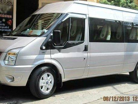 Bán xe Ford Transit Luxury sản xuất năm 2013, màu bạc