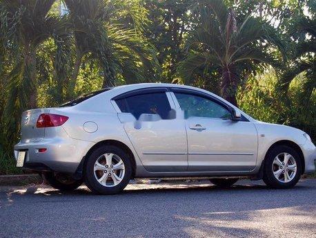 Bán ô tô Mazda 3 1.6 AT sản xuất 2005, màu bạc, nhập khẩu