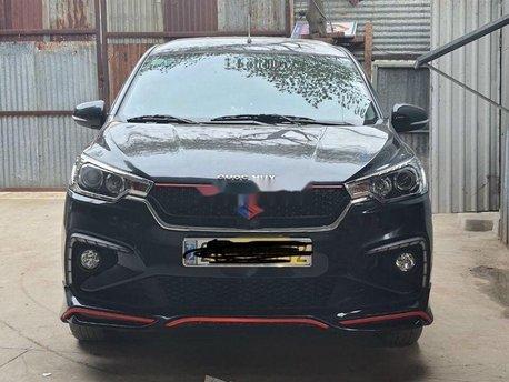 Cần bán lại xe Suzuki Ertiga năm sản xuất 2019, màu đen